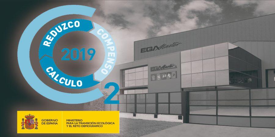 EGA Master recibe el sello 'Calculo+Reduzco' como empresa sostenible