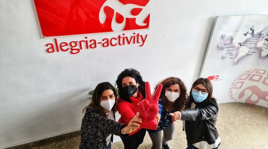 Día de la Mujer en alegria activity en Júndiz
