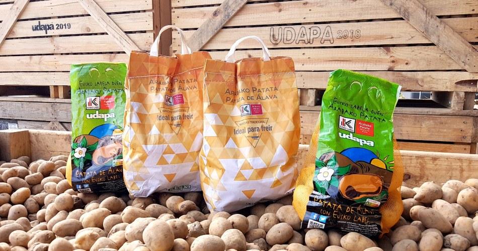 Udapa inicia la campaña de patata 2021